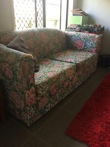 Floral sofa bed Gordonvale Cairns City Preview