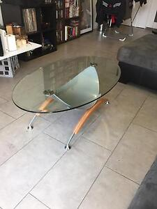Gainsville Glass Coffee Table Fitzroy Yarra Area Preview