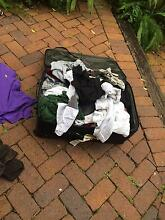 Suitcase full of men's clothes Hawthorne Brisbane South East Preview