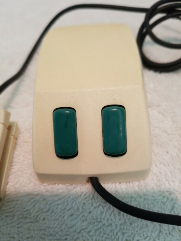 Original Microsoft Green Eyed Mouse, 1st Computer mouse introduced 1983