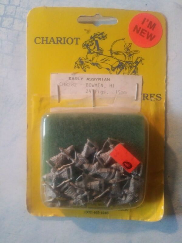Chariot miniatures Early Assyrian Bowmen