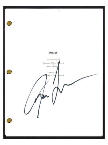 Kasi Lemmons Signed Autographed HARRIET Movie Script Screenplay Director COA
