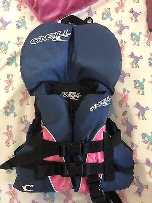 Oneill Infant Lifejacket 1-3yrs Oneill Surfboards