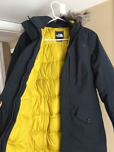 Womens North Face Parka Medium