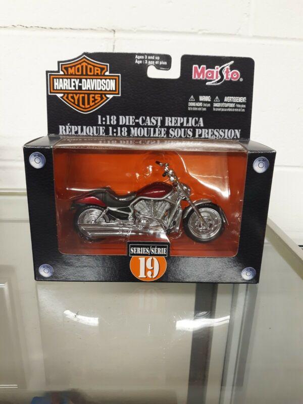 Maisto1:18 scale 2004 Harley Davidson VRSCA V-ROD Series 19