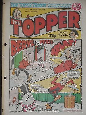 The Topper Comic 28th February 1987 (Issue 1778)