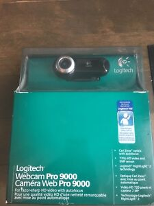 Logitech Pro 9000 PC Internet Camera Webcam 2 MP