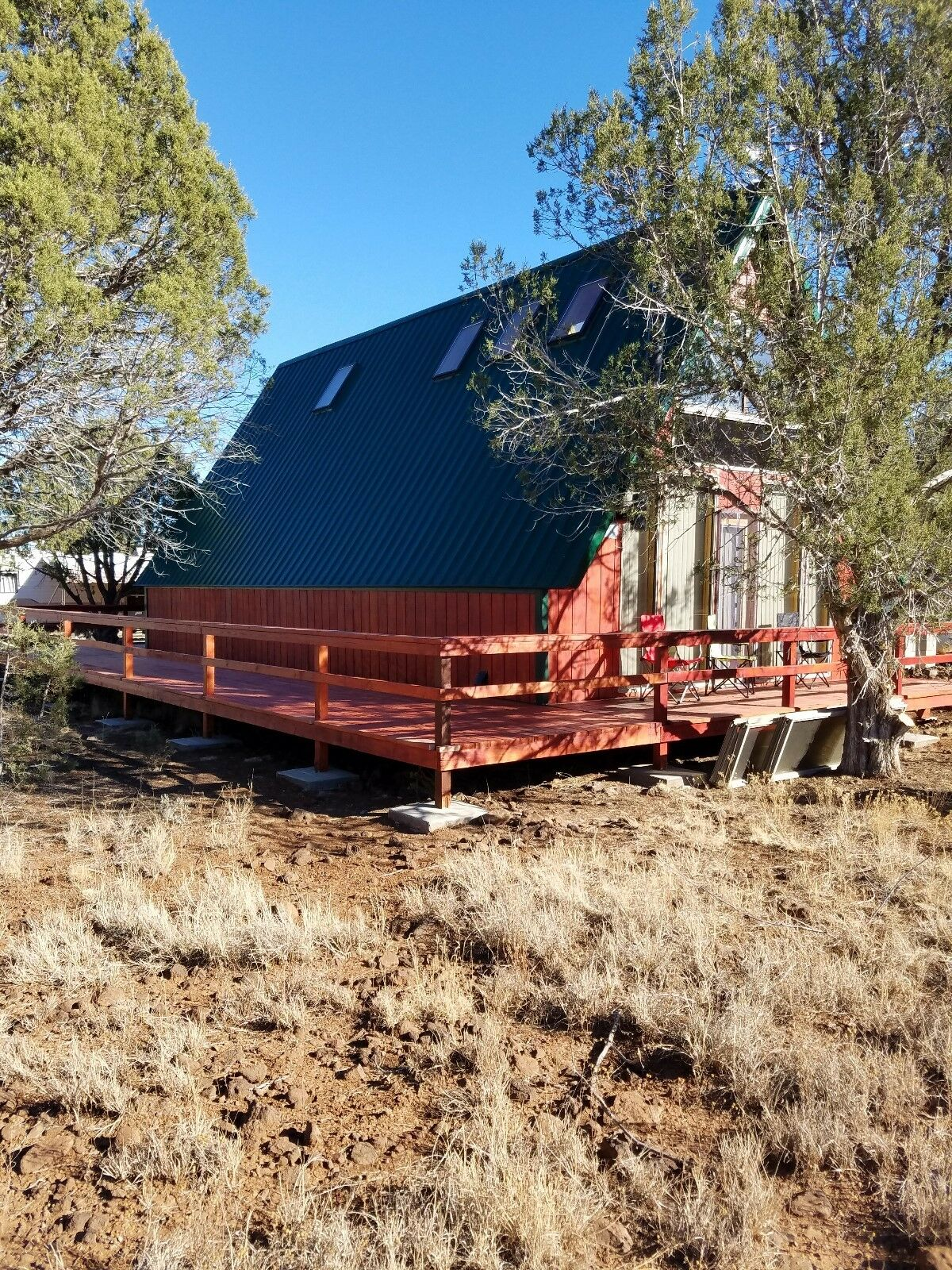 Cabin And Land For Sale Near Ash Fork, Az 2.25 Acres