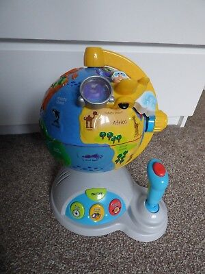 Boots Fly Discovery Moving Globe With Sounds, Talking, Sound Effects