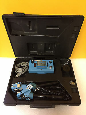 Brady PM-1 Port-A-Mark, 7 Digit Hot Stamping (Marking) Tool + Case + Accessories