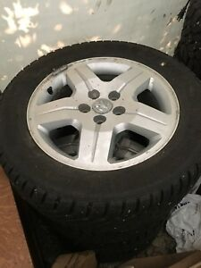 Dodge winter tires  and rims