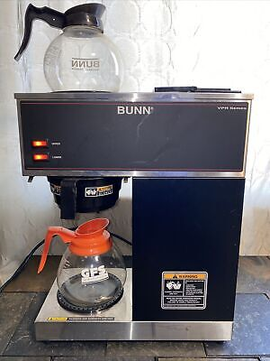 Bunn 33200 Vpr 12-cup Commercial Pour-over Coffee Maker Two Decanters Warmers