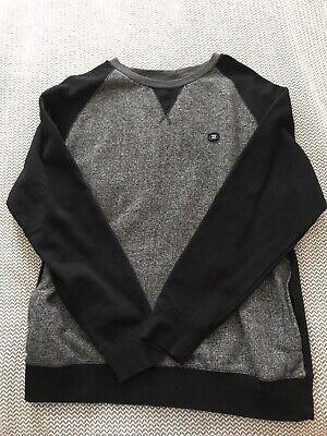 GREAT BILLABONG GRAY & BLACK SWEATSHIRT SIZE XL COTTON  Billabong Cotton Sweatshirt