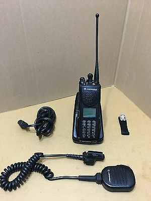 1 Motorola Xts3000 Iii Uhf P25 Digital Police Radio W Programming Security