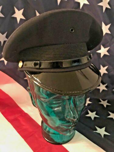 New York Police Department Dress Uniform Visor Hat / genuine U.S.A.made/SZ M