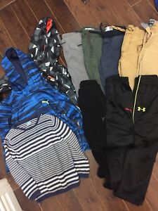 Boys size 5 lot of pants and sweaters