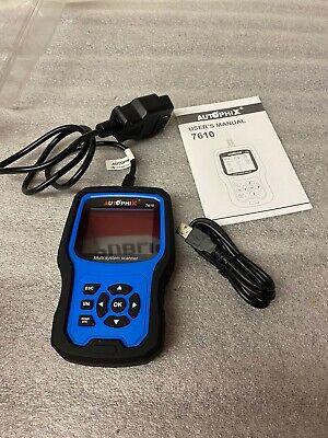 For VW AUDI VAG OBD2 Diagnostic Tool Auto Scanner ABS SRS EPB SAS Autophix 7610