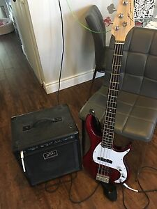 Peavey Bass Guitar & Amp