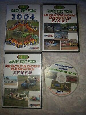 banger racing DvD bundle
