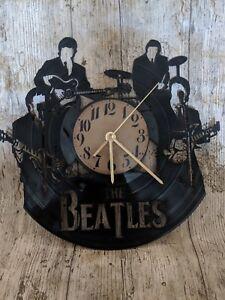 The Beatles 2 Vinyl Record Clock home decor gift