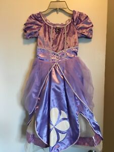 Sofia the First Disney Costume Girls size 5/6