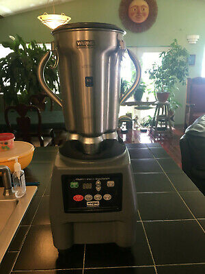 Waring Cb15t Commercial Food Blender With Timer Electronic Panel