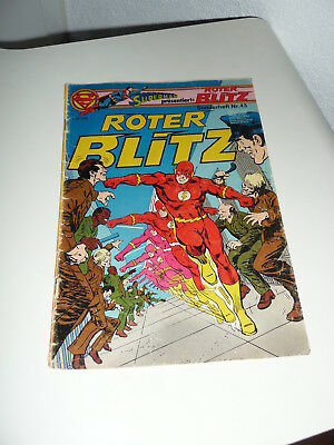 Comic Comicheft - Supermann präsentiert Roter Blitz - Sonderheft Nr.43