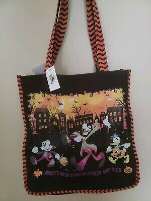 Mickey Not So Scary Halloween Magic Kingdom (Mickey's Not So Scary Halloween Party 2019 Magic Kingdom Disney Parks Tote)