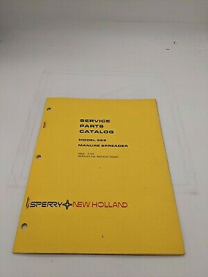New Holland Service Parts Catalog 329 Manure Spreader 4-81