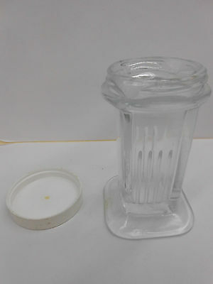 Wheaton Glass Rectangular Staining Jar With Lid