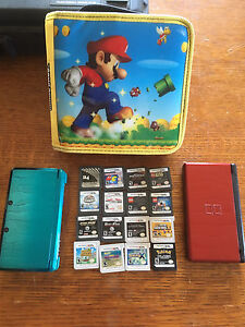 Ds and 3ds with lots of games!