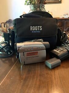 Sony Handicam DCR-HC26 Everything Included