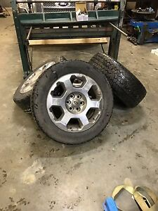 """F-150 20"""" Factory Rims (with rubber and tpms)"""