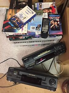 VHS tapes and vcrs  FREE