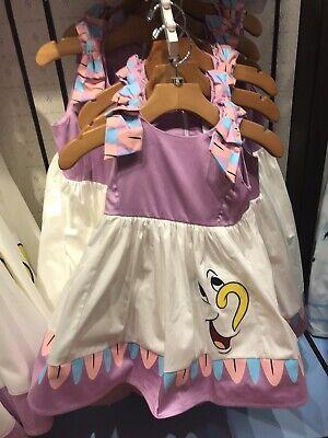 Disney Parks The Dress Shop Mrs. Potts & Chip Dress for Girls Youth XL