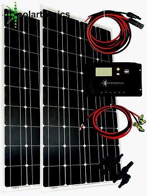 200Watt 12Volt Solar Set Solaranlage Inselanlage Garten Camping Solarmodul