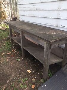 For sale: Potting table -$25.OBO