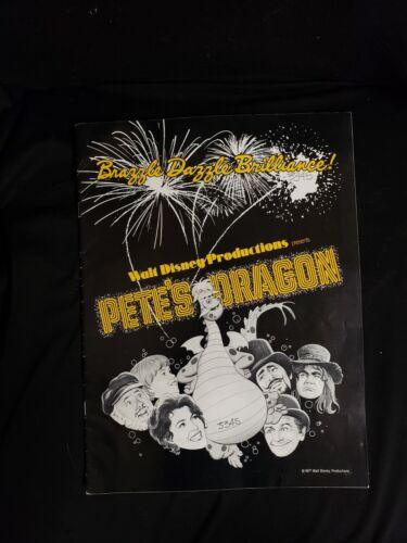 PETE'S DRAGON pressbook Walt Disney 1977 Helen Reddy Mickey Rooney