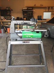HITACHI CW30 SCROLL SAWS