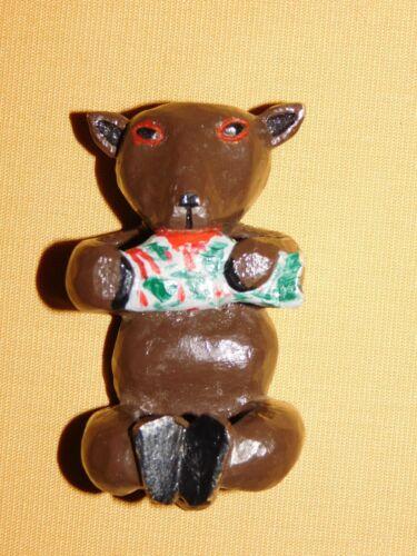 VINTAGE BSA BOY SCOUTS OF AMERICA NECKERCHIEF SLIDE BEAR