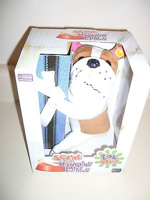 2005 GEMMY HUMPING DOG, humping motion, barks, makes sounds. NEW. Costume prop.