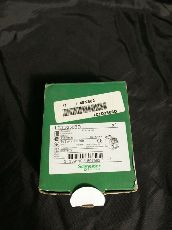 SCHNEIDER ELECTRIC LC1D256BD  LC1D256BD Contactor