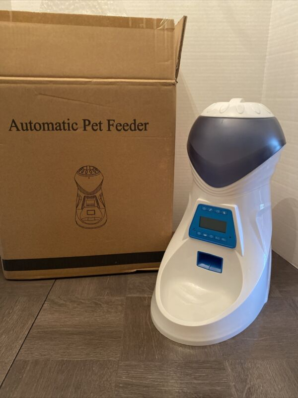 HoneyGuardian A25 Automatic Pet Feeder Voice Recorder Timer Programmable