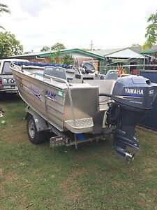 2008 Seajay tropic with 2008 60hp Yamaha outboard Ipswich Ipswich City Preview