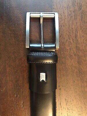 *NEW* Tiger Woods Nike Genuine Leather Brown Golf Belt Size 36 12052-02 NWOT