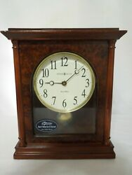 Howard Miller Dual Chime Mantel Clock with Pendulum Model 635-131 Candice