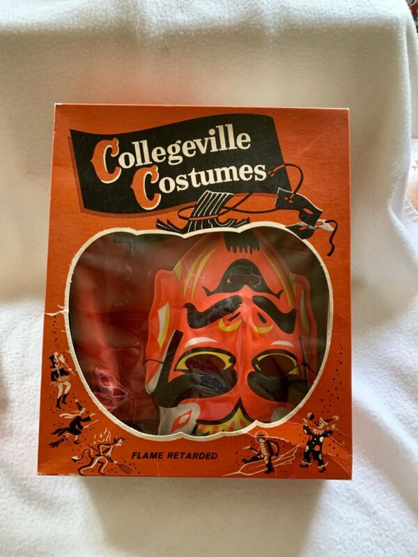 Vintage Collegeville Costume Devil Halloween Size Large