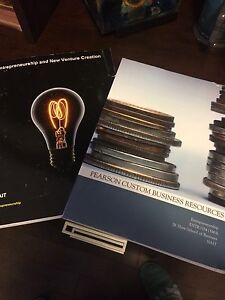 Entrepreneurship & New Venture Creation (custom) - Both books