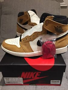 """SIZE 10 US - AIR JORDAN 1 """"ROOKIE OF THE YEAR"""" DS"""