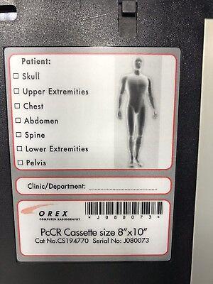 Orex Pccr Cassette Size 8x10cm